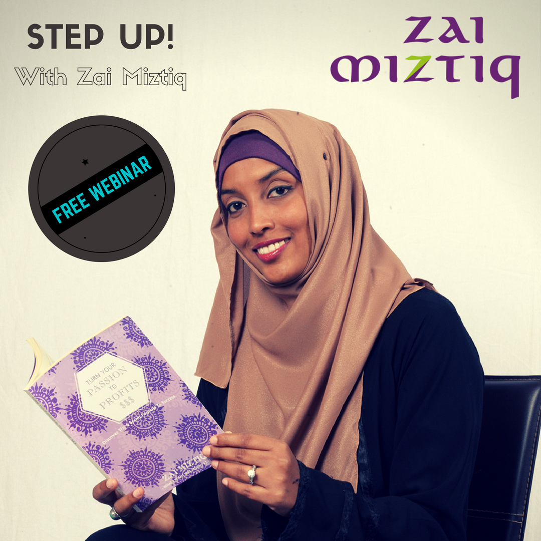 Step Up With Zai Miztiq-Free Webinar